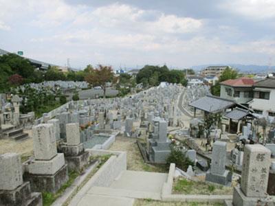 京田辺市大住小林墓地のお墓
