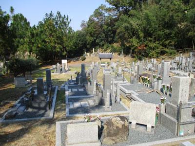 京田辺市普賢寺野神墓地のお墓
