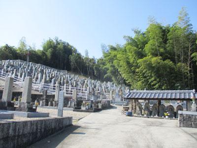 京田辺市松井向山墓地のお墓