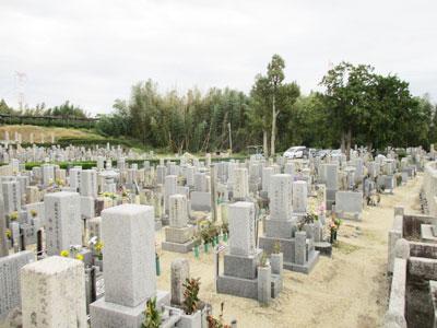 京田辺市飯岡南原墓地のお墓