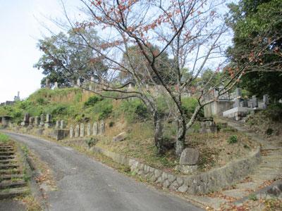 京田辺市にあるお墓、打田宮本墓地