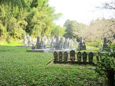 京田辺市にあるお墓、高船池ノ谷墓地