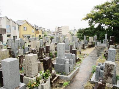 京都市伏見区にあるお墓、淀新町墓地