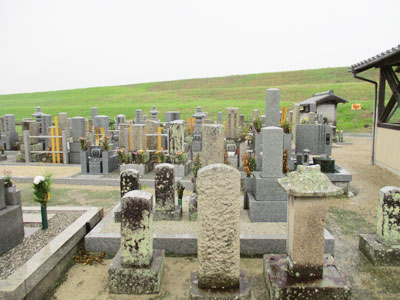 京都市伏見区にあるお墓、淀生津町墓地