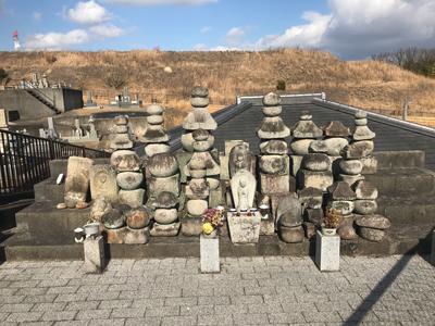 京田辺市にあるお墓、南山東墓地