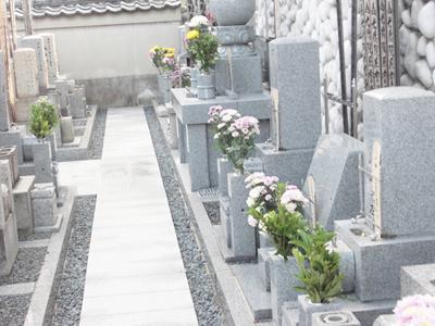 中京区にあるお墓、専徳寺境内墓地